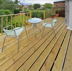 Garden Decking Cleaning
